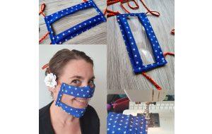 Initiative : Odiora élabore un masque à visière made in France