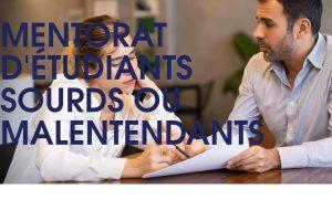 La Fondation pour l'audition recherche des mentors pour des étudiants sourds ou malentendants