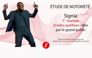 Une étude de notoriété place Signia en tête des marques d'aides auditives en France
