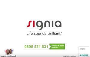 Signia met en avant l'invisibilité de son intra Silk dans une nouvelle campagne TV
