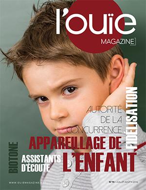 Couverture de L'Ouïe Magazine n°70