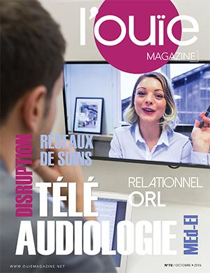 Couverture de L'Ouïe magazine n°72