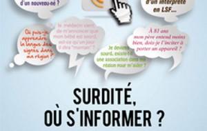 «Surdité, où s'informer ?» : lancement d'un dispositif national d'information surdité